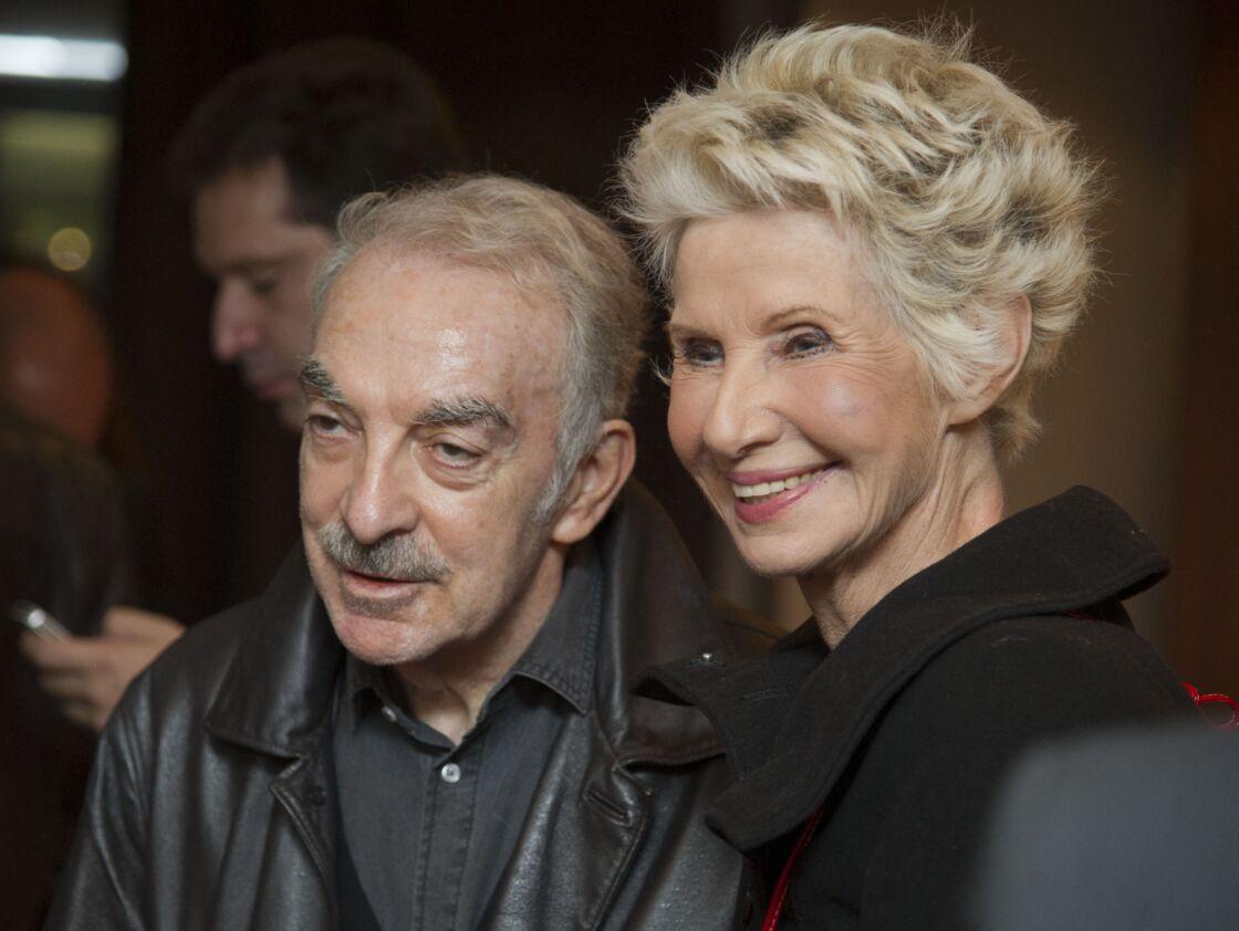 Danièle Gilbert et son compagnon Patrick Semana lors de la soirée de lancement du livre