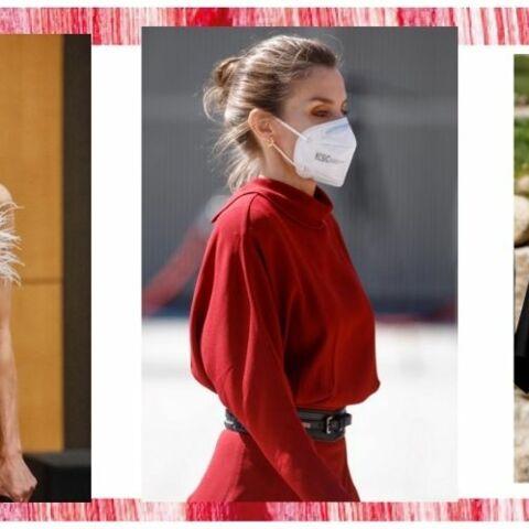 PHOTOS – Letizia d'Espagne craque pour la ceinture large, l'accessoire star du printemps 2021