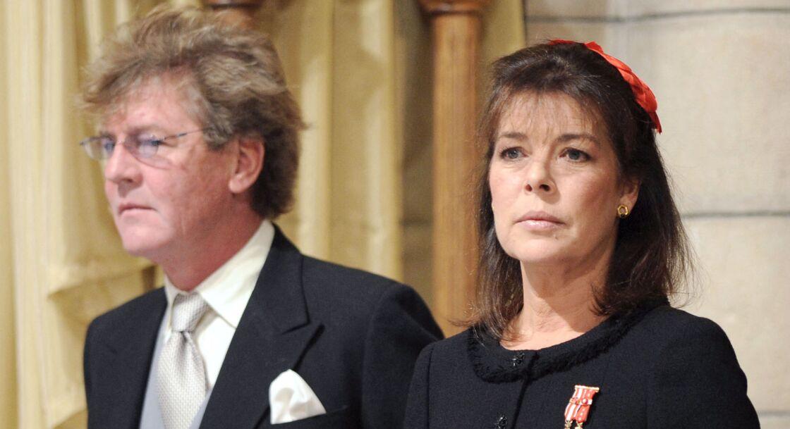 Caroline de Monaco et le Prince Ernst August of Hanover à Monaco, le 19 novembre 2008.