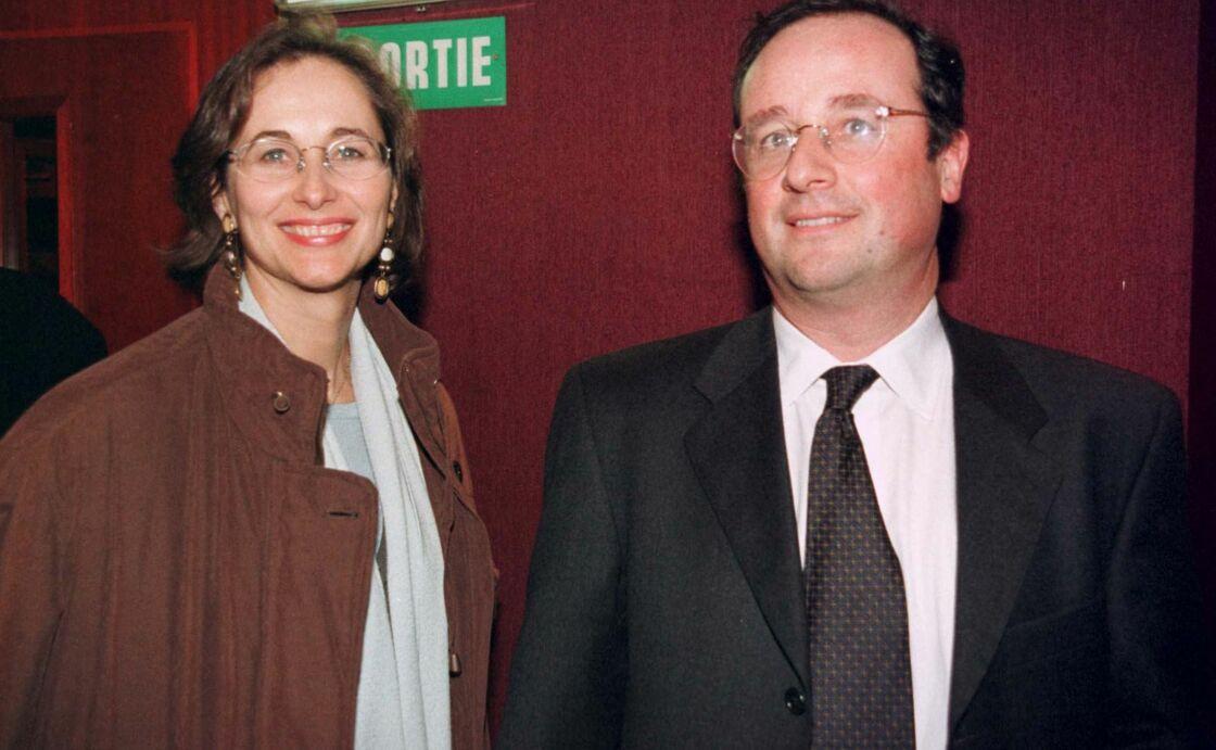 Ségolène Royal et François Hollande au Théâtre, à Paris, le 22 janvier 1999