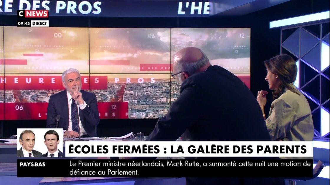 Pascal Praud dans L'heure des pros, vendredi 2 avril 2021