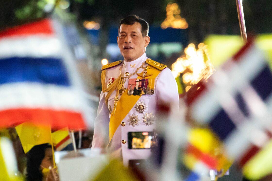 Rama X le 5 décembre 2020 à Sanam Luang