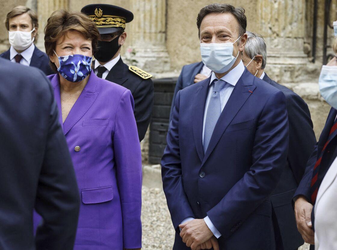 Roselyne Bachelot et Stéphane Bern lors des journées européennes du Patrimoine le 18 septembre 2020