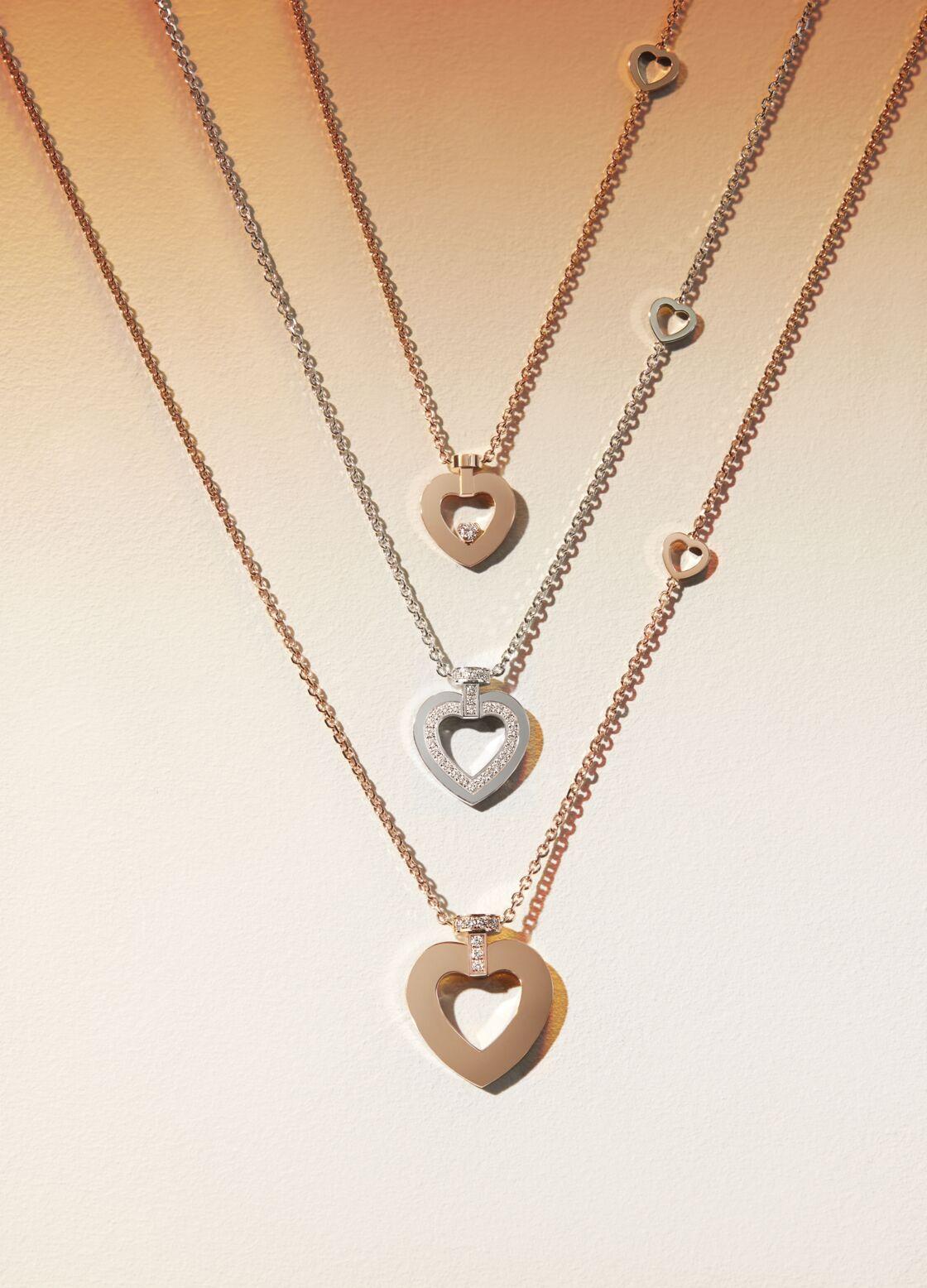 Une ligne plus accessible de pendentifs et bagues vient s'ajouter à la collection haute joaillerie de rubellites.