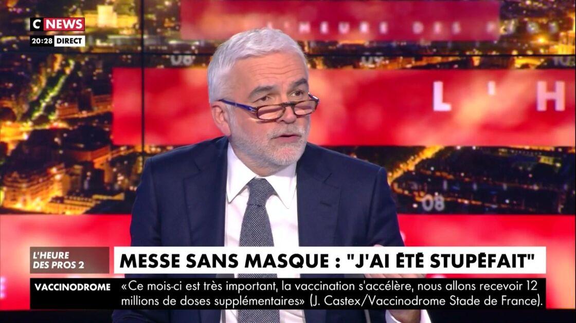 Pascal Praud dans L'heure des pros, mardi 6 avril 2021.
