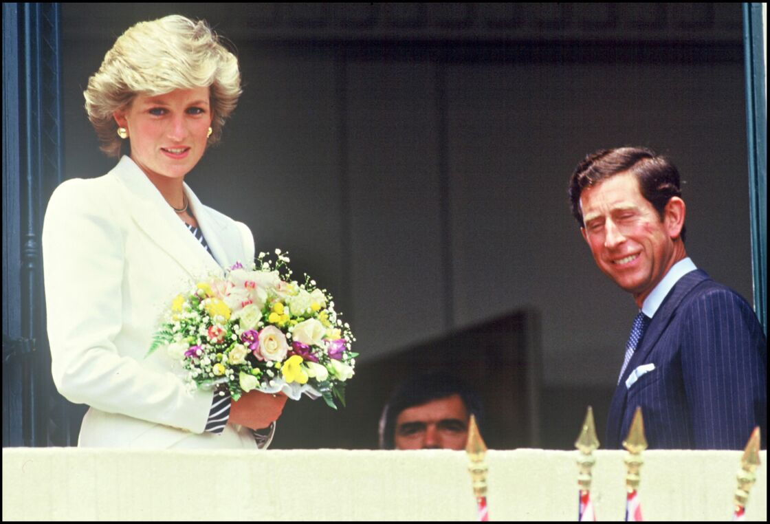 Lady Diana et le prince Charles à Cannes en mai 1987