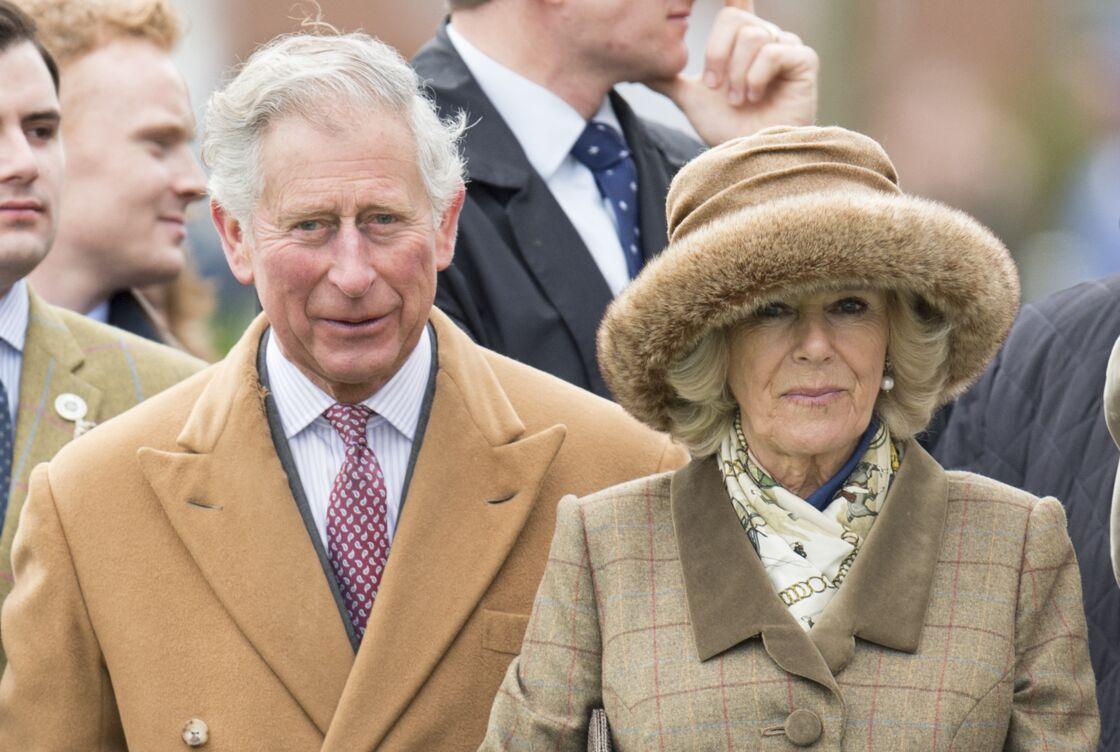 Le prince Charles et Camilla Parker Bowles à Ascot le 29 mars 2015