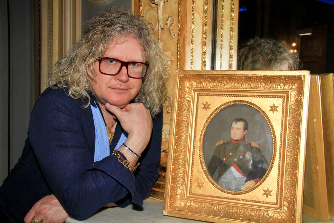 Pierre-Jean Chalençon, ici au Palais Vivienne, a été placé en garde à vue ce vendredi 9 avril