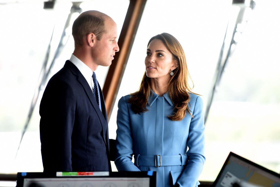 Le prince William et Kate Middleton à Birkenhead le 26 septembre 2019
