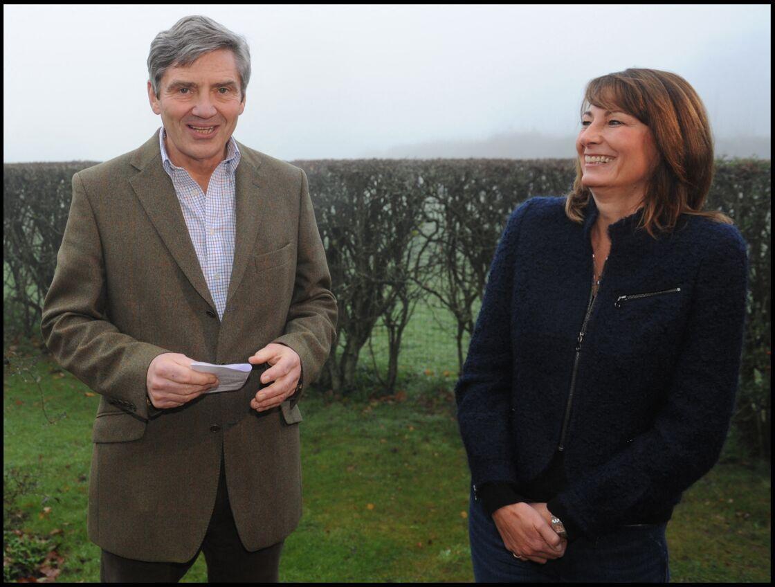 Michael et Carole Middleton seront les premiers à être informés des fiançailles de Kate et William