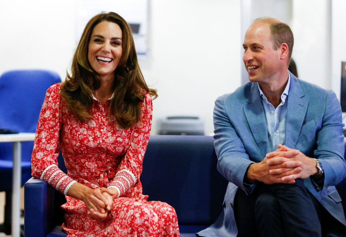 Kate Middleton et le prince William en sortie officielle