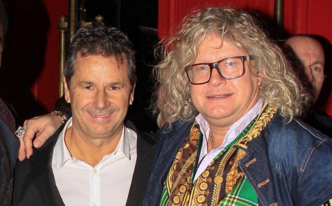 Christophe Leroy et Pierre-Jean Chalençon lors de la soirée du premier anniversaire de la Conciergerie Castel by TAO le 12 novembre 2019 à Paris