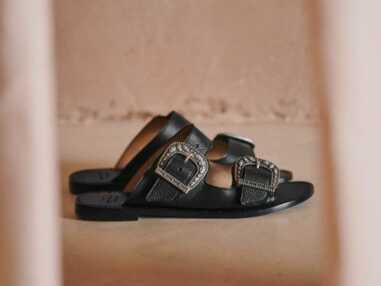PHOTOS - 30 sandales plates à avoir absolument pour le printemps 2021