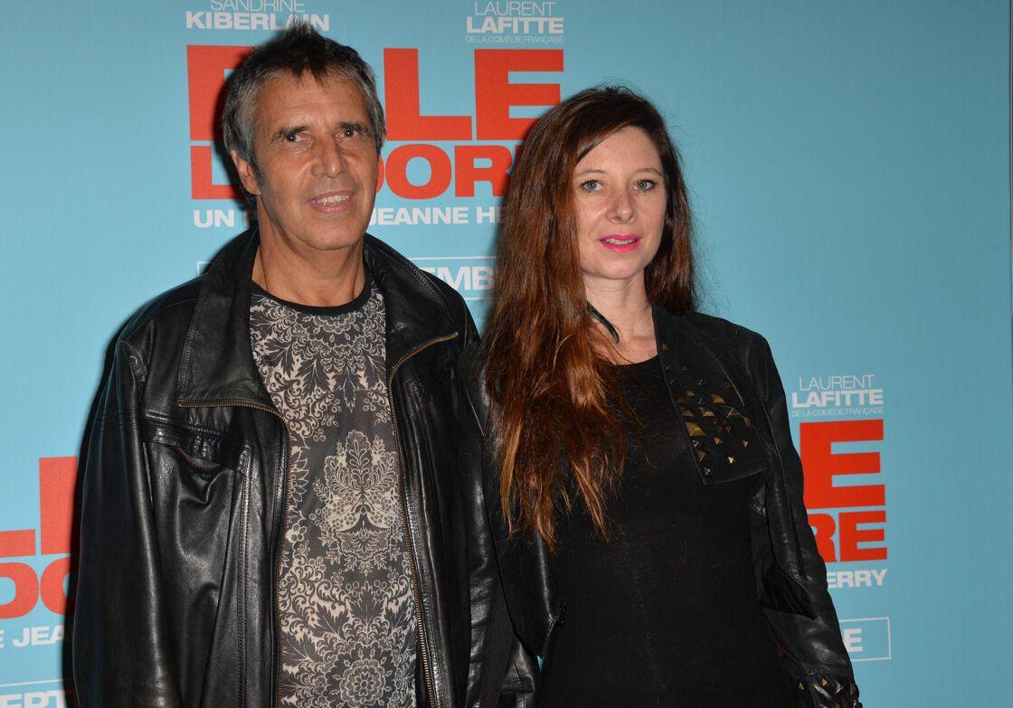 Julien Clerc et sa femme Hélène Grémillon à l'avant-première du film