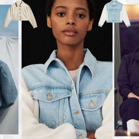PHOTOS – 5 façons de porter la veste en jean tendance printemps-été 2021
