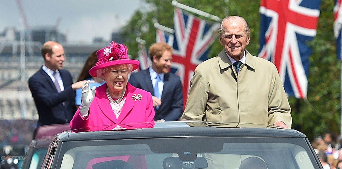 La reine Elisabeth et le prince Philip au