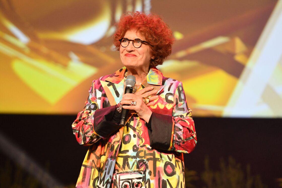 Andréa Ferreol qui a reçu un Award pour sa carrière