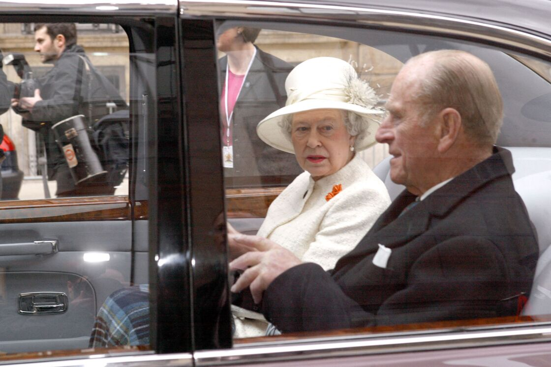 Le prince Philip avec Elizabeth II
