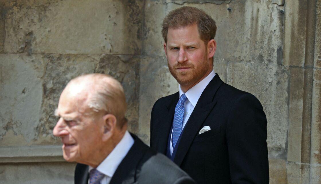 Le prince Philip et le prince Harry