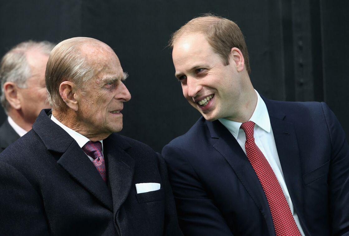 Le prince Philip et le prince William en 2015.