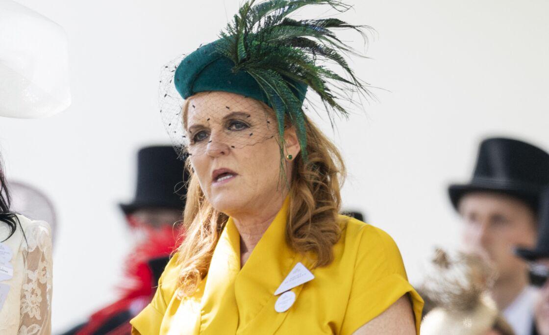 Sarah Ferguson à Ascot le 21 juin 2019