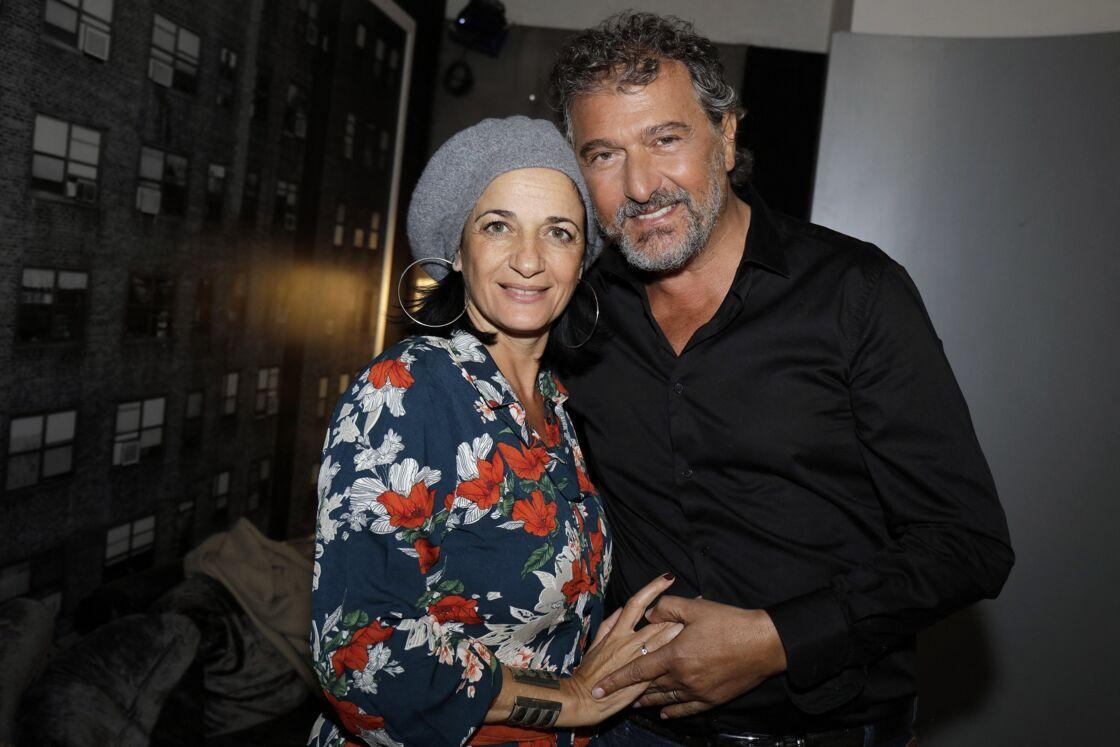Daniel Lévi et sa compagne Sandrine Aboukrat le 25 septembre 2019