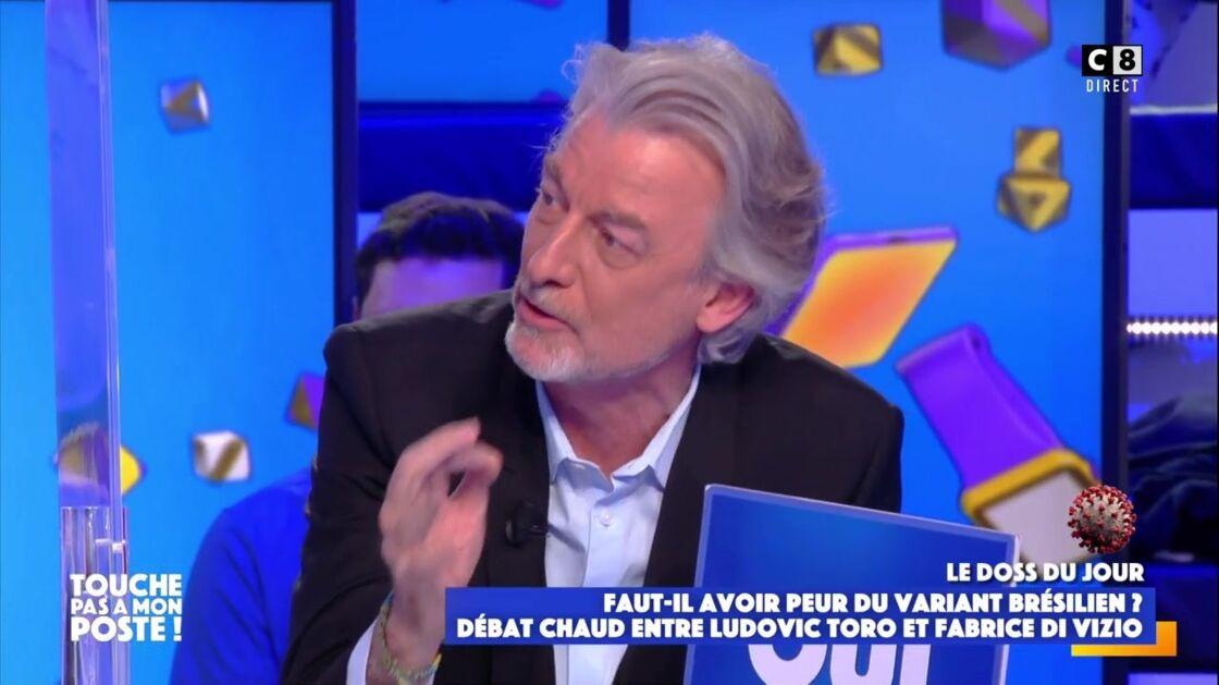 Gilles Verdez a vivement critiqué Fabrice Di Vizio et lui a lancé :