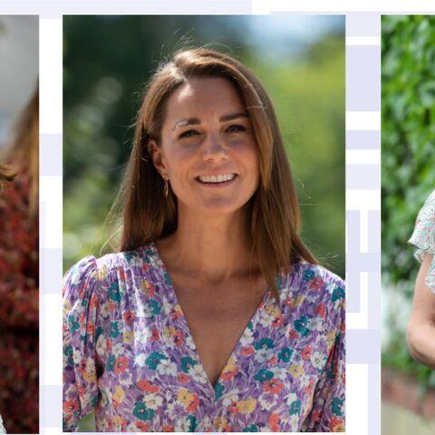 PHOTOS – Kate Middleton: robe fleurie, pull rose… ses tenues ultra-tendances pour le printemps-été