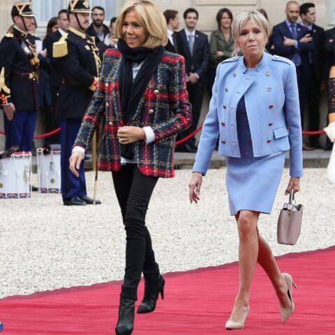 PHOTOS –  Brigitte Macron: ses 5 essentiels mode à lui emprunter