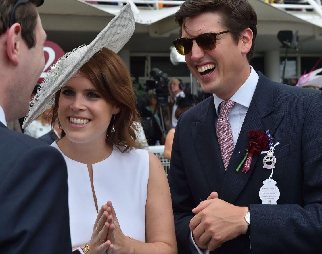 La princesse Eugenie et son époux, Jack Brooksbank.