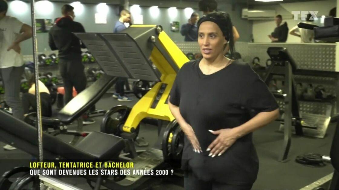 Nadia Lalej dans l'émission « Que sont-ils devenus ? », diffusé sur TFX.