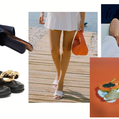 PHOTOS – Chaussures femme: 15 mules tendance printemps-été 2021