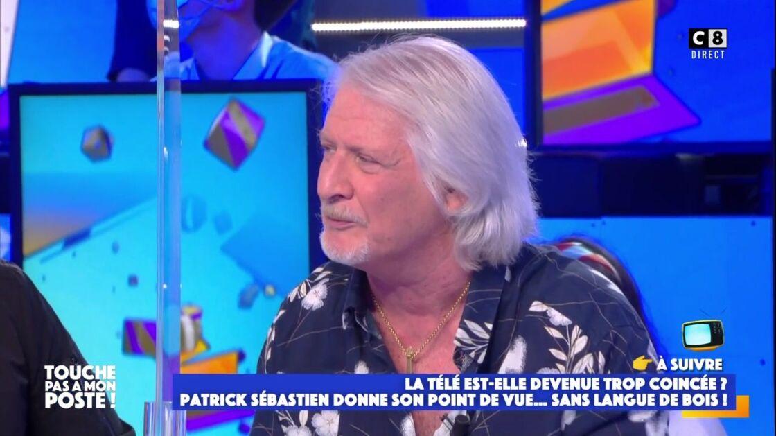 Patrick Sébastien apporte son soutien à Bernard Tapie sur le plateau de Touche pas à mon poste ce jeudi 15 avril 2021