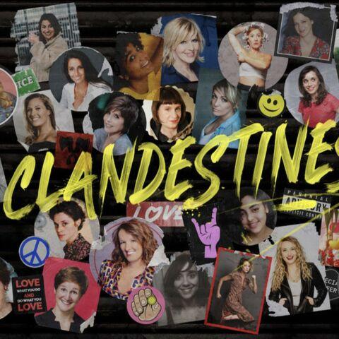 «Clandestines»: Anne Roumanoff, Chantal Ladesou en direct du théâtre de la Tour Eiffel pour la bonne cause
