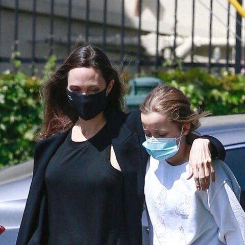 PHOTOS – Angelina Jolie et sa fille Vivienne complices: elle a bien grandi!