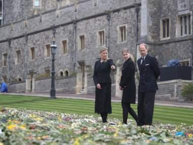 PHOTOS - Le prince Edward, Sophie de Wessex et leur fille Lady Louise émus avant les obsèques de Philip