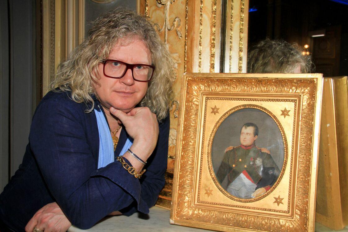 Pierre-Jean Chalençon, ici au Palais Vivienne le 18 avril 2020
