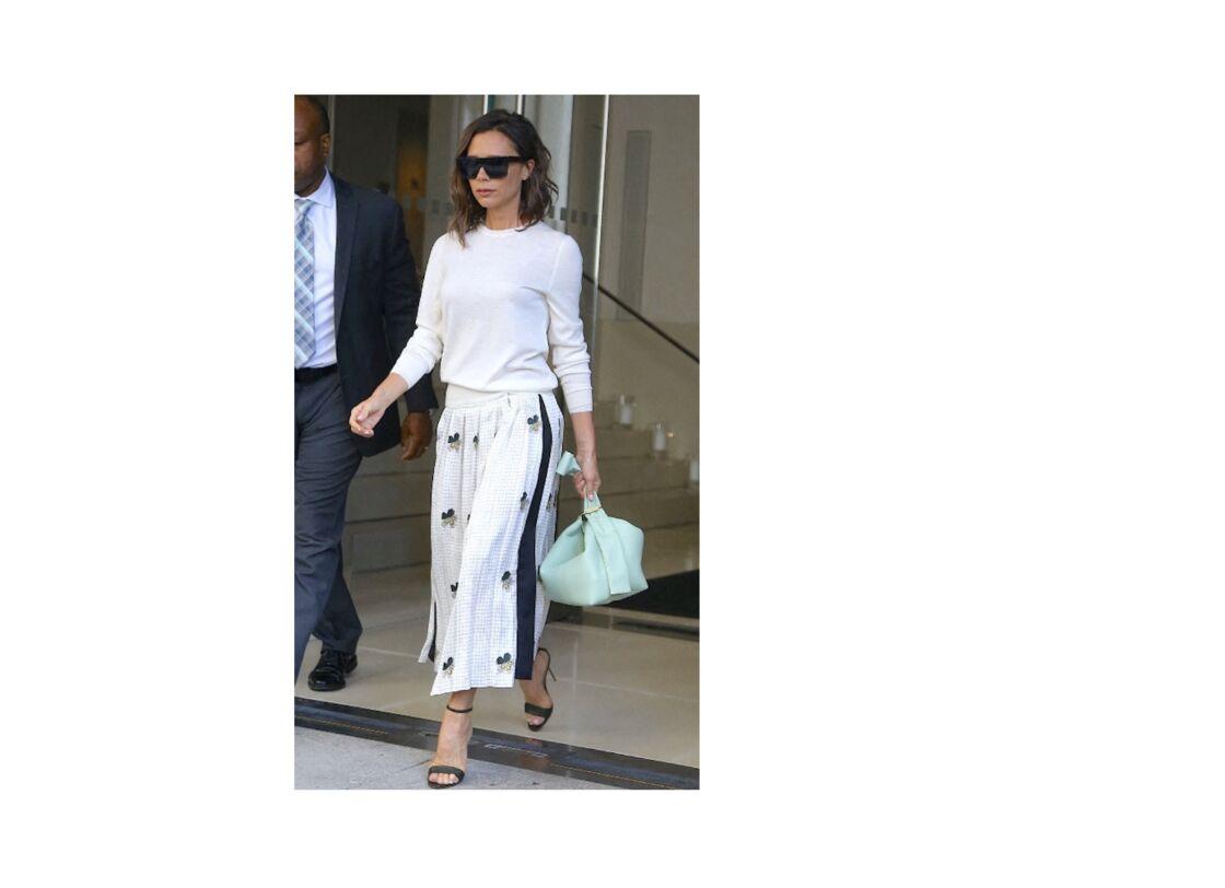 Belle et romantique avec jupe plissée très fluide
