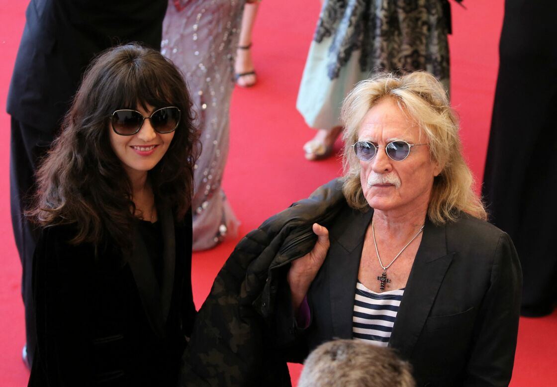 Audrey Gautier et Christophe le 13 mai 2015 au Festival de Cannes