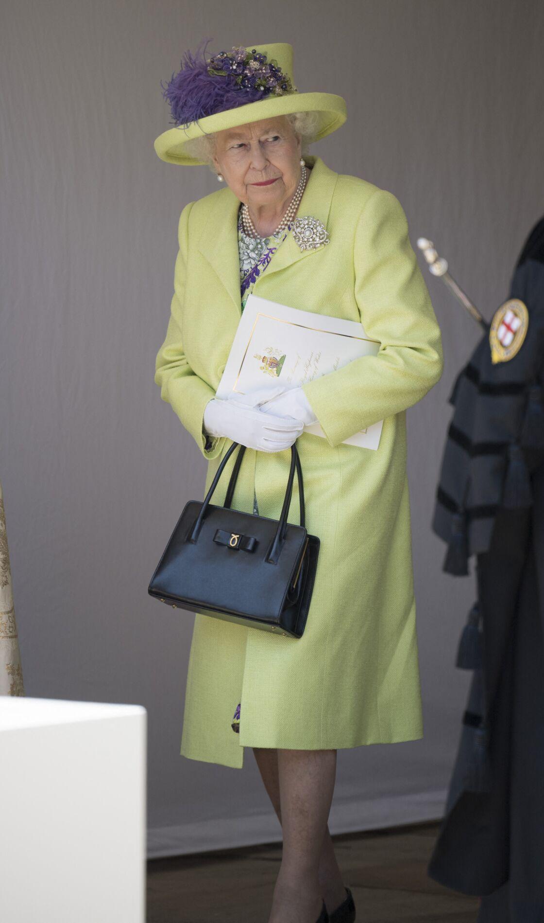 La reine Elizabeth II au mariage de Meghan Markle et du prince Harry