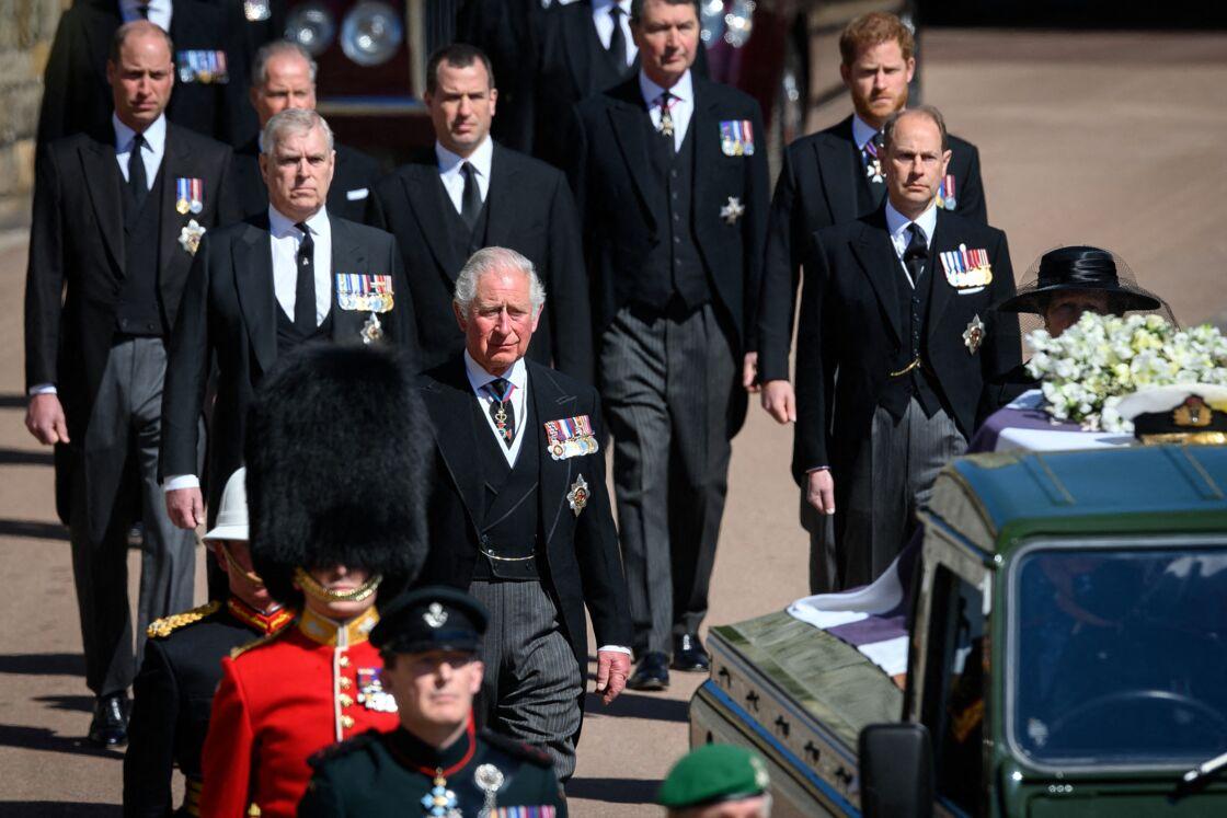 Le prince Charles s'est montré profondément ému tout au long de la cérémonie