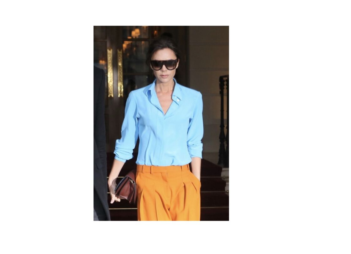Esprit masculin très féminin pour Victoria Beckham