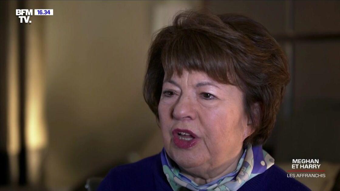 Angela Levin dans le documentaire Meghan et Harry, les affranchis ce dimanche 18 avril 2021