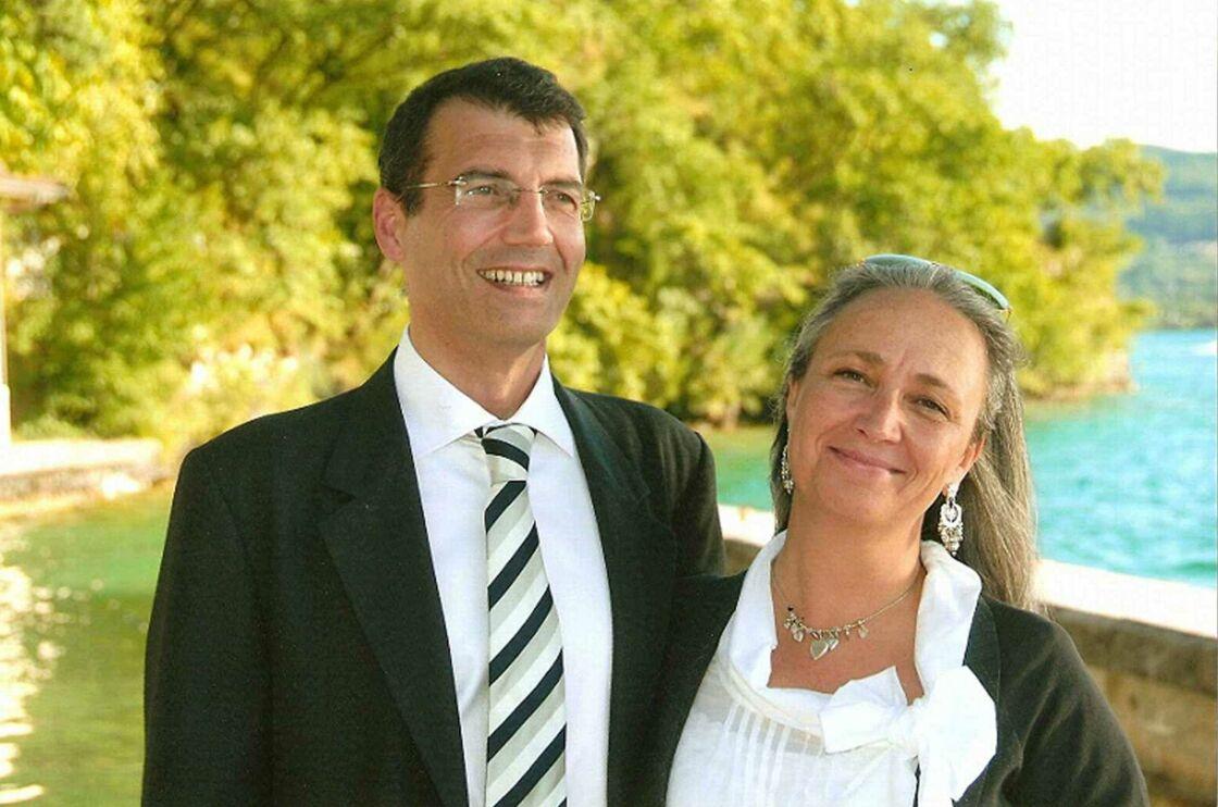 Xavier Dupont De Ligonnès et sa femme Agnès. Son épouse, qui se plaignait quotidiennement de l'attitude de son mari,