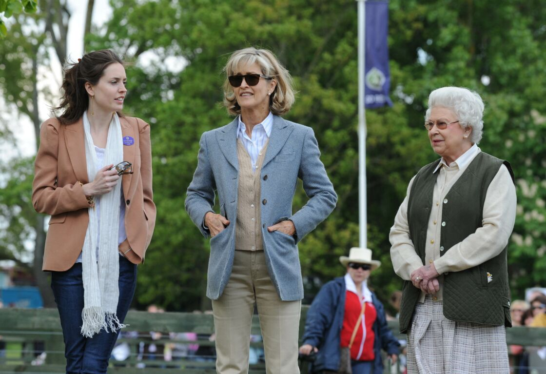 Lady Alexandra, Lady Penny et la reine Elizabeth II