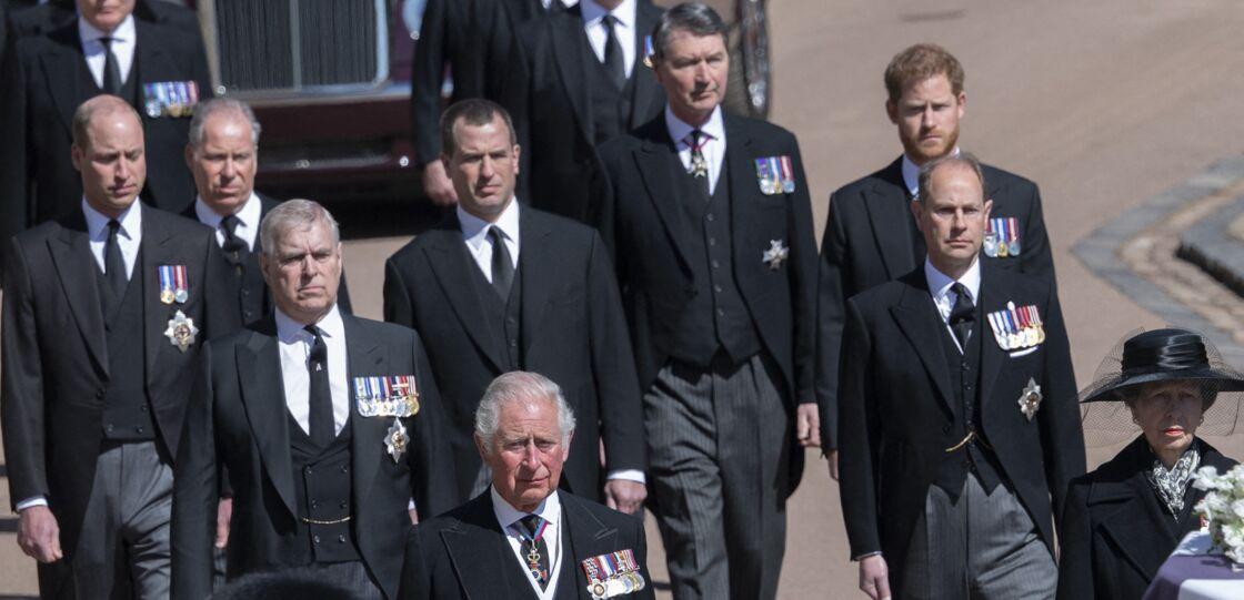 Le prince Harry a pu parler à son frère et à son frère après les obsèques du prince Philip.