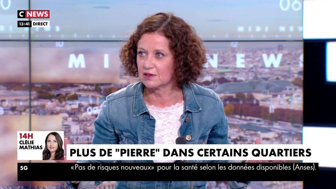 Elisabeth Lévy dans Midi News, sur CNews, le mardi 20 avril 2021.