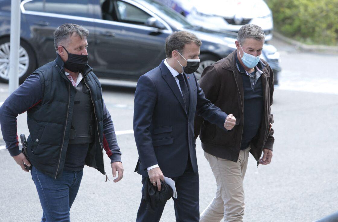 Ce lundi 19 avril, Emmanuel Macron s'est rendu sur le terrain, à Montpellier, à l'occasion d'un déplacement sur le thème de la sécurité.