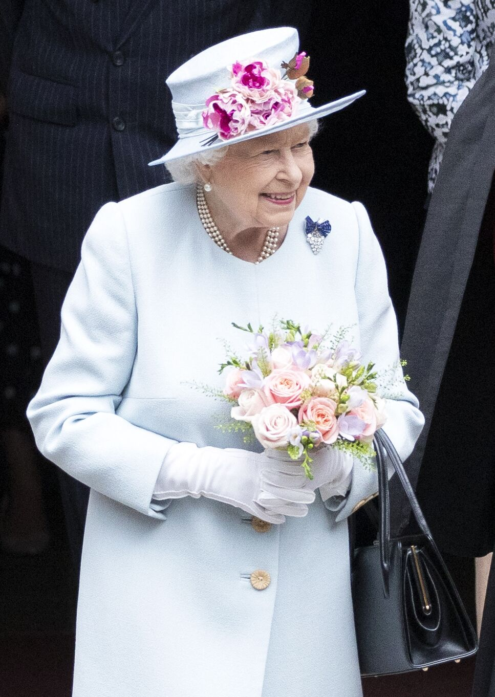 La reine à Edimbourg en 2019