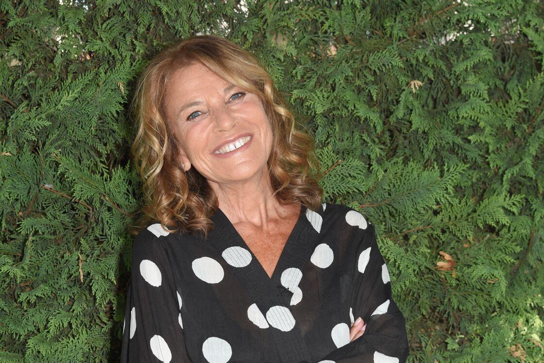 Nicole Calfan lors du troisième jour de la 11ème édition du festival du Film Francophone d'Angoulême, France, le 23 août 2018.